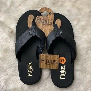 8215a2759814 flojos Shoes - Men s Flojos Cole II Rubber Flip Flops
